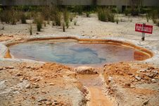Free Hot Spring Pond Stock Photo - 16311960