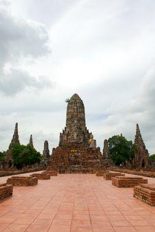 Wat Chai Stock Photography