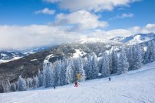 Free Ski Resort Schladming . Austria Stock Photos - 16312723