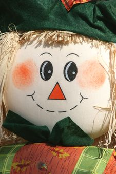 Free Raggedy Ann Scarecrow Face Stock Images - 16312794