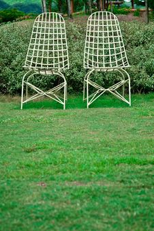 Free Couple Chair Stock Image - 16314041