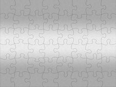 Free Stainless Steel Jigsaw Pattern Royalty Free Stock Photos - 16314448