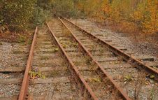 Free Abandoned Tracks Stock Image - 16314741