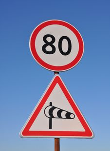 Free Traffic Signs Stock Images - 16314834