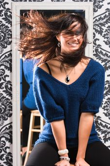 Free Flying Hair Stock Images - 16314974