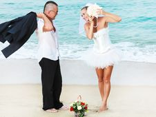 Free Tropical Wedding Stock Image - 16315381