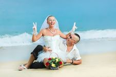 Free Tropical Wedding Royalty Free Stock Images - 16315849