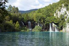 Free Plitvicer Waterfalls Royalty Free Stock Photos - 16315998