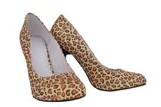 Free Leopard Shoes Stock Photo - 16316130