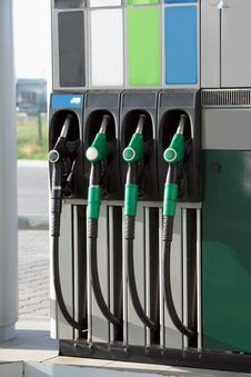 Free Filling The Station Pump. Stock Photos - 16316353