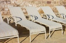 Free Number Of Plank Beds At Hotel Stock Photo - 16316670