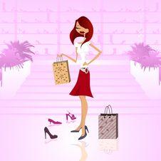 Free Shopping Woman Stock Photo - 16316760