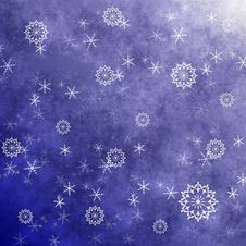 Free Grunge Snowflakes Royalty Free Stock Photography - 16317167