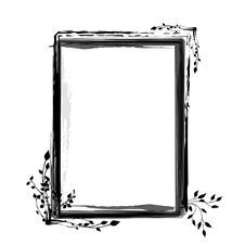 Free Grunge Floral Frame Royalty Free Stock Photography - 16317437