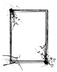 Free Grunge Floral Frame Royalty Free Stock Photo - 16317455