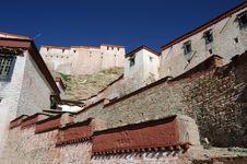 Free Tibetan Buildings Stock Image - 16318011