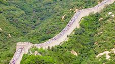 Great Wall No.8 Stock Photo