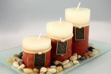 Free Aromatic Candles Royalty Free Stock Photo - 16319675