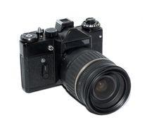 Free Black Camera Stock Images - 16319834