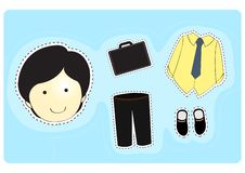 Free Businessman With Variety Of Clothes Stock Photos - 16319973