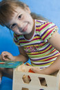 Free Little Girl Play. Stock Photography - 16320992