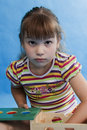 Free Little Girl Play. Stock Photography - 16321032