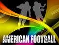 Free American Football Advertising Poster Stock Image - 16324931