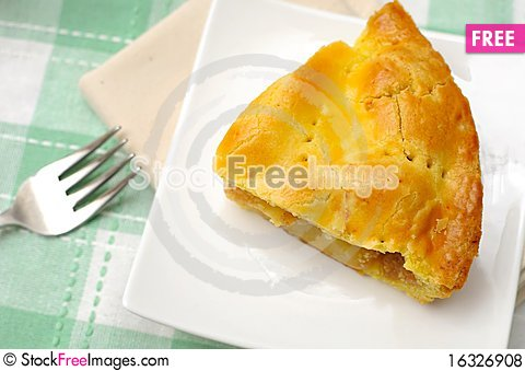 Free Top View Of Pie Royalty Free Stock Photos - 16326908