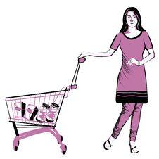 Shopping Lifestlye Royalty Free Stock Image