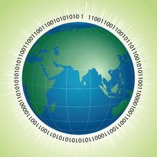 Global Technology Royalty Free Stock Image