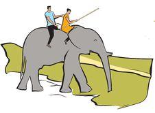 Free Elephant Safari Stock Photography - 16320822
