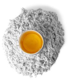 Flour And Egg Ver B&W Stock Photography