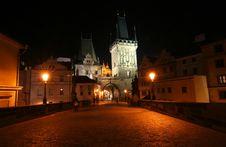 Free Charles Bridge In Prague Royalty Free Stock Image - 16320946