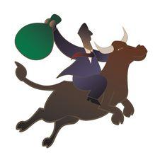 Free Bull Market Stock Images - 16321054