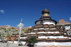 Free Grand Tibet Pagoda Royalty Free Stock Image - 16321146