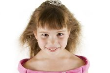 Girl Princess. Stock Photography