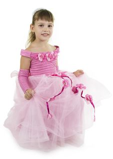 Girl Princess. Royalty Free Stock Images