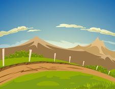 Free Mountain Landscape Stock Image - 16321811