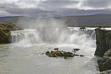 Godafoss, Iceland. Royalty Free Stock Image
