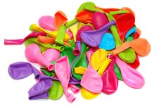 Free Multi-colored Balloons Royalty Free Stock Photos - 16322418