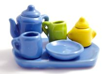 Free Colorful Set Of Dishes Royalty Free Stock Images - 16322669