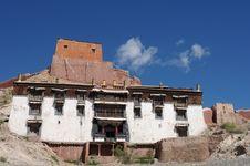 Free Tibetan Lamasery Royalty Free Stock Image - 16322886