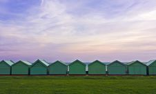 Free Beach Huts Royalty Free Stock Photo - 16323405
