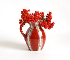 Free Still Life With Red Natural Rowan Stock Photos - 16323703
