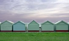 Free Beach Huts Royalty Free Stock Photography - 16323797