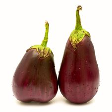 Free Purple Eggplants Royalty Free Stock Image - 16324226