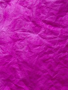 Free Background - Wrinkled Paper Purple. Royalty Free Stock Images - 16324419