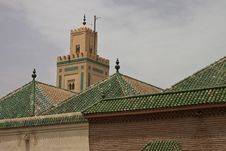 Free Mosque In Marrakech Stock Images - 16325424