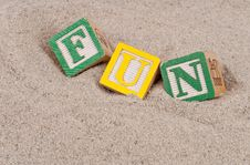 Free Fun In The Sand Stock Photography - 16325732