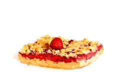 Free Piece Of Summer Strawberry Cake Royalty Free Stock Photography - 16325917